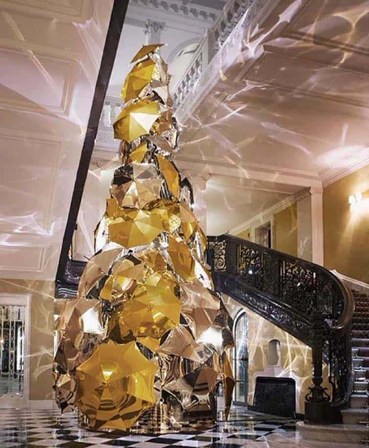 Creative Christmas Tree 2015 - Claridge Hotel - London - England