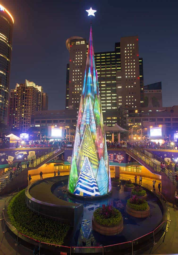 Creative Christmas Tree 2015 - Taipei