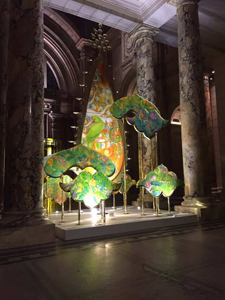 Creative Christmas Tree 2015 - Victoria and Albert Museum- 01 - London - England