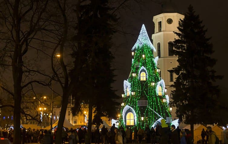 Creative Christmas Tree 2015 - Vilnius - Lithuania
