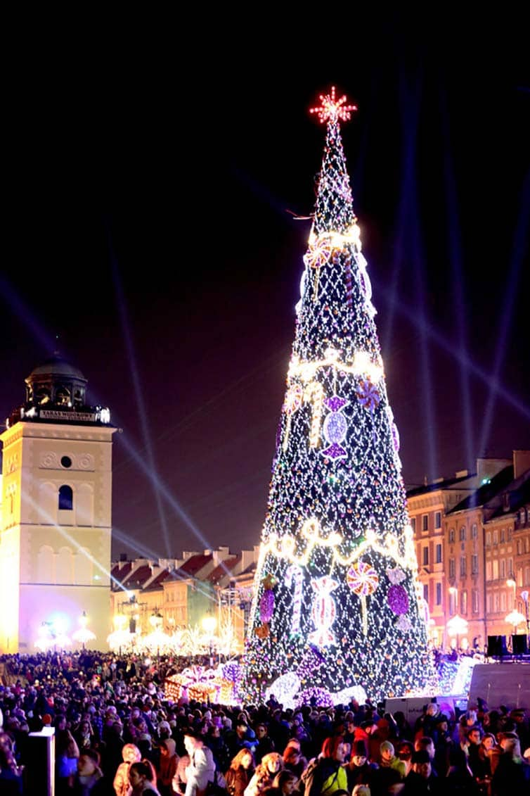 Creative Christmas Tree 2015 - Warsaw - Poland