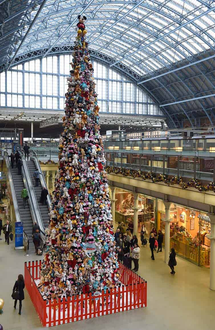 Creative Christmas Tree 2015 - london - england