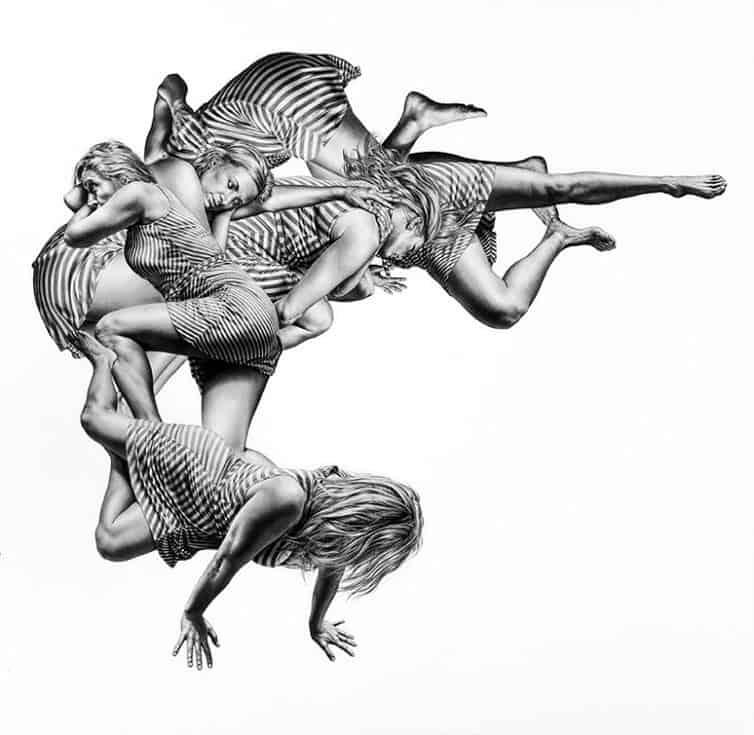 Leah Yerpe - Sketches - Floating Bodies 2