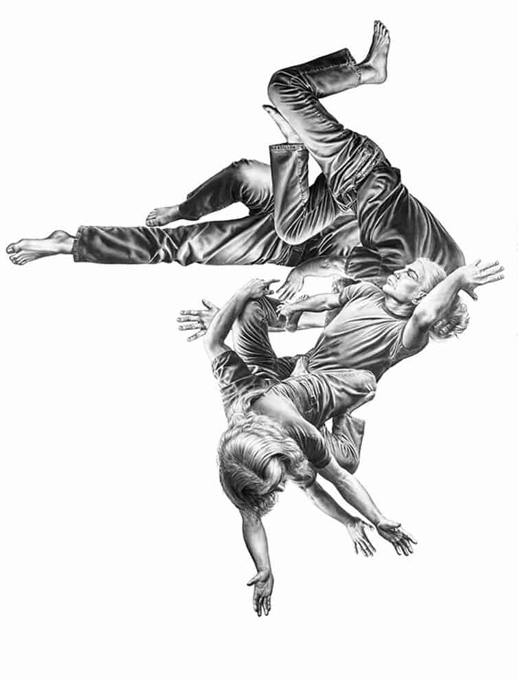 Leah Yerpe - Sketches - Floating Bodies 3