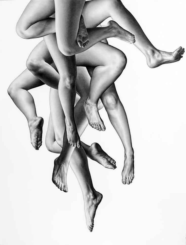 Leah Yerpe - Sketches - Floating Bodies 5