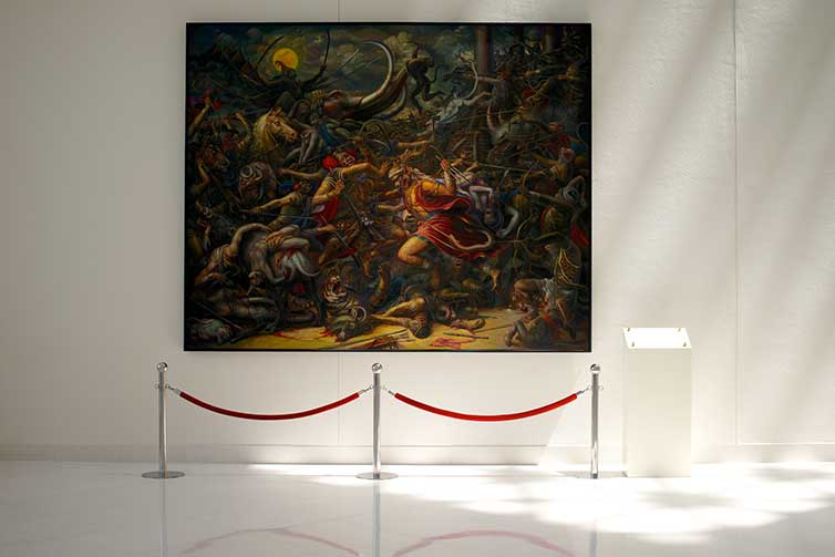 MOCA - Museum of Contemperary Art - Bangkok - Thai Art - 03