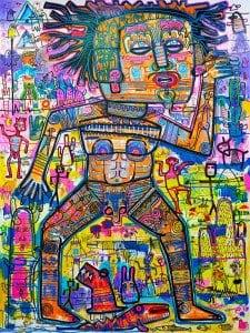 Popkapi – Jakkrit Chewapanya – Popkapi Tribe 150 x 200