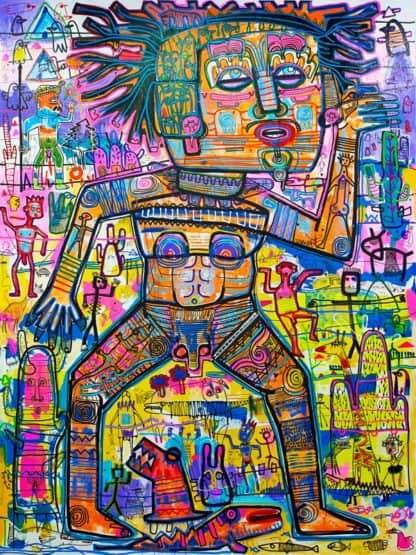 Popkapi - Jakkrit Chewapanya - Popkapi Tribe 150 x 200