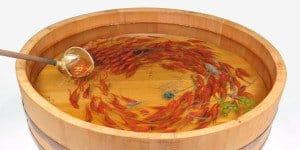 Riusuke Fukahori - Hyper-realistic - Goldfish Sculptures 07 - feat