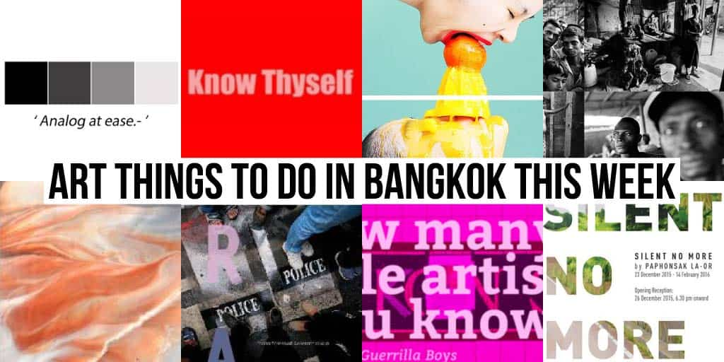 Things To Do in Bangkok This Week - Art 23 - Onarto