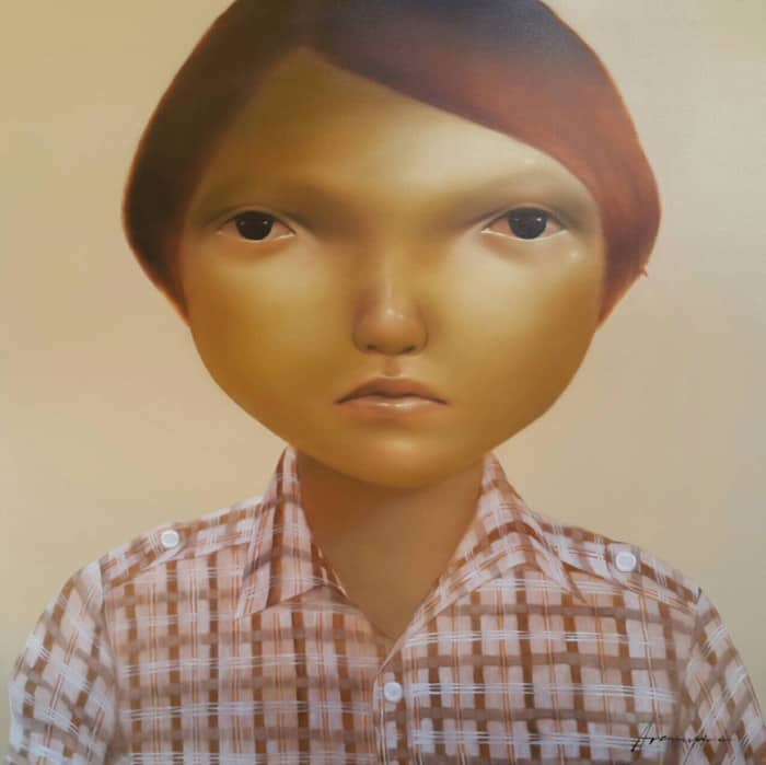 Aranya - Untitled 10 - 150 x 150 - 35