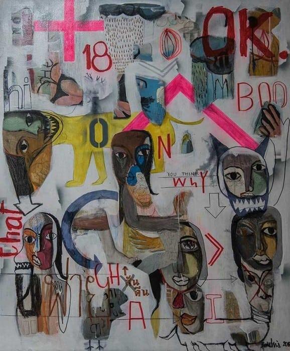 Boonchai - Untitled 22 - 100 x 190