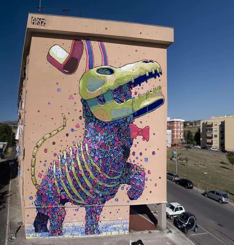 Bukruk Urban Street Art 2016 - Aryz - Spain