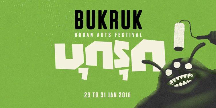 Bukruk Urban Street Art 2016 - Bukruk 2016 - feat