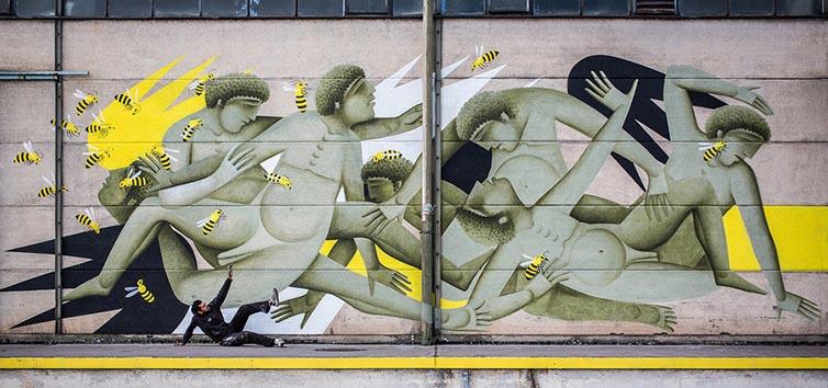 Bukruk Urban Street Art 2016 - Fikos - Greece