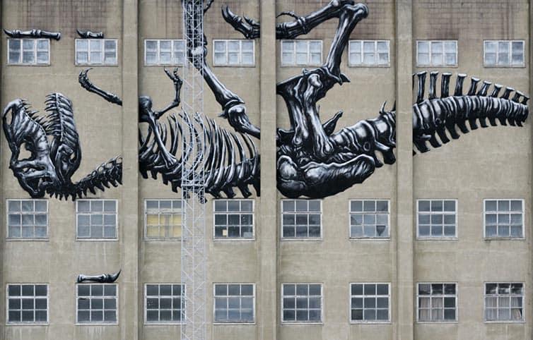 Bukruk Urban Street Art 2016 - Roa - Belgium
