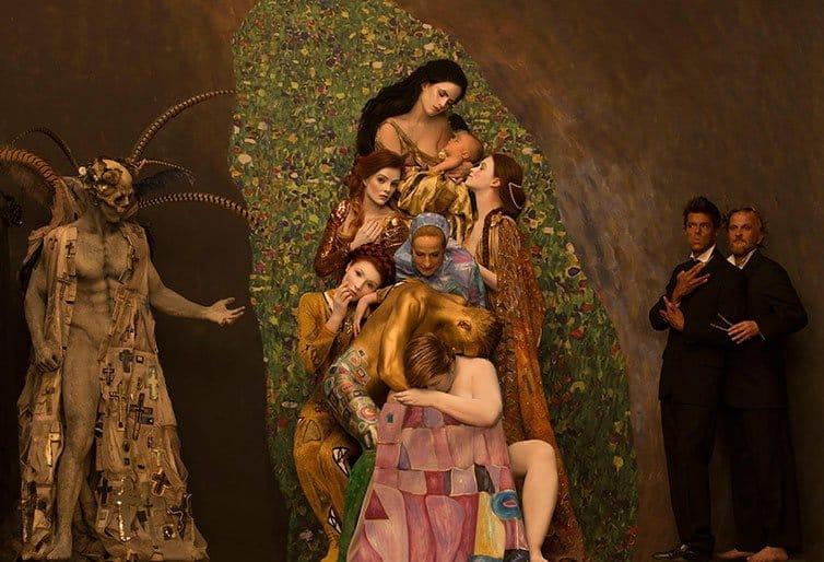 Inge Prader - Photographer Recreates - Gustav Klimt 10