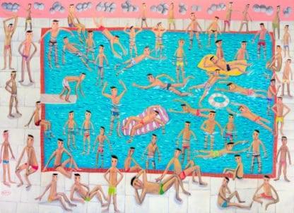 Kitti - Swimming Pool - 140 x 100