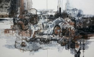 Noi - Untitled Abstract 11 - Diptych - 230 x 160