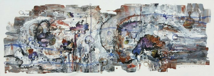 Noi - Untitled Abstract 12 - 220 x 80