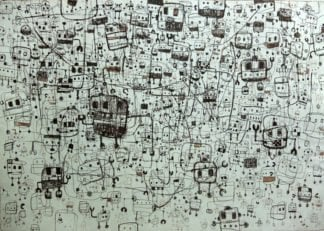 Num - My Robots And Memory - 76 x 57 - 95