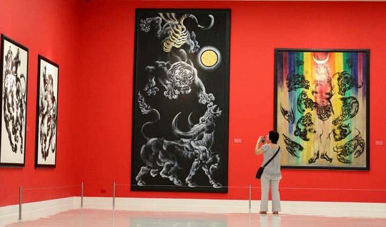 Thawan Duchanee - Thai - Expressionist Artist 01