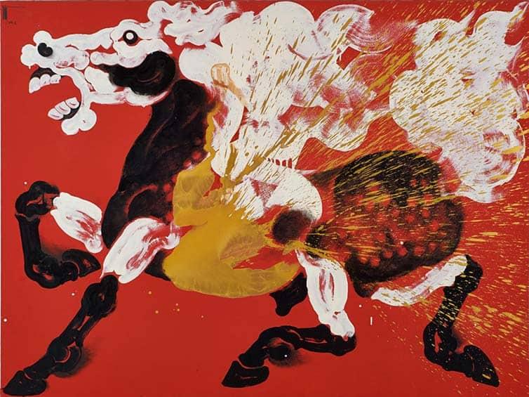 Thawan Duchanee - Thai - Expressionist Artist 06