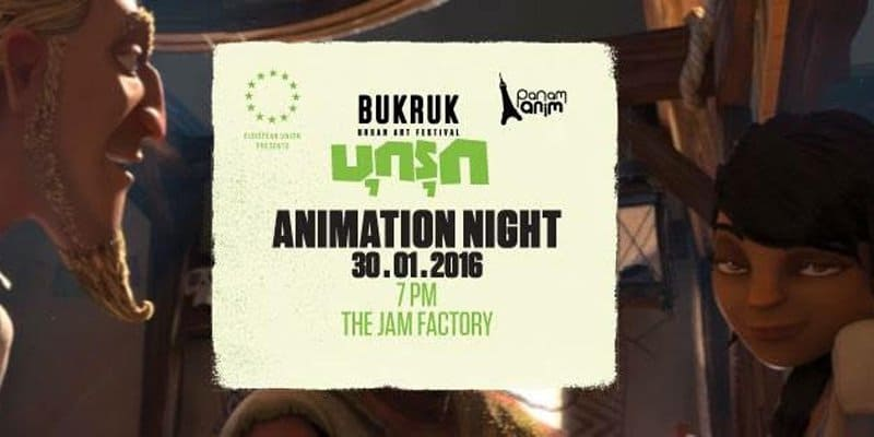 The Jam Factory - Bukruk - animation Night