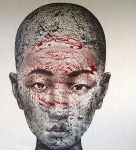 Vichit – Untitled Portrait 25 – 230 x 243