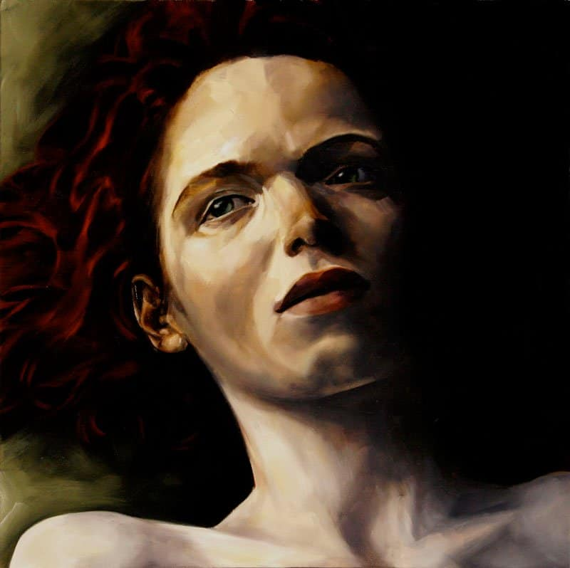 Artist Spotlight - Margarita Georgiadis - Moody Oil Paintings 03