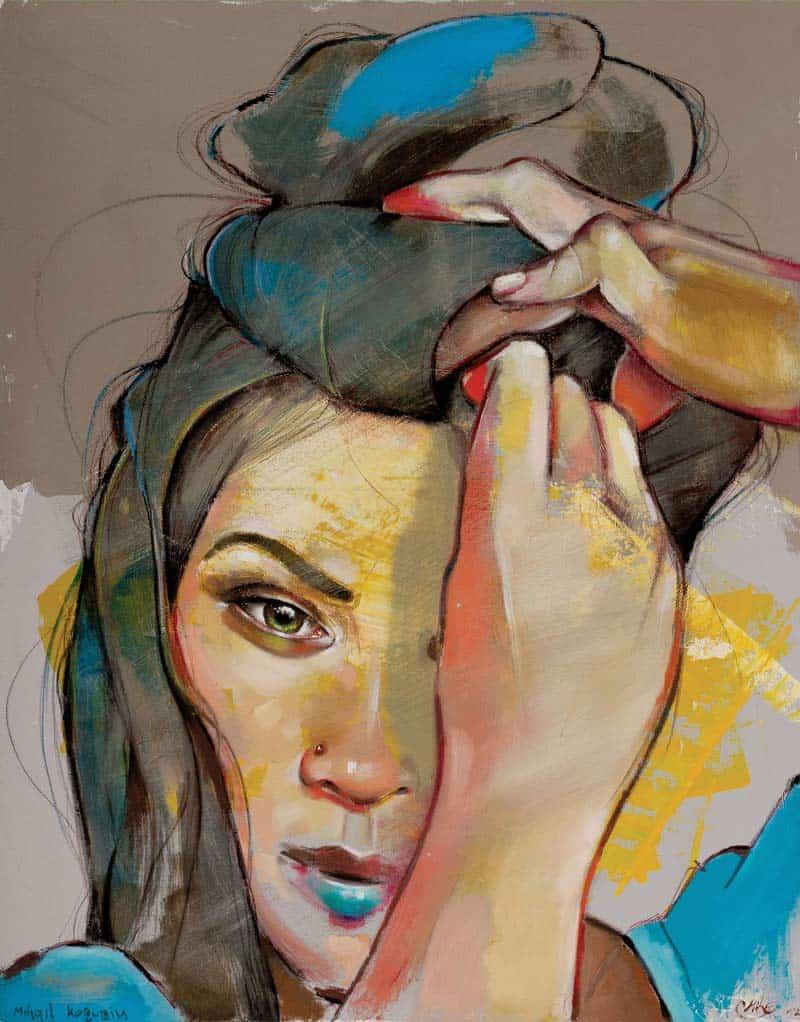 Artist Spotlight - Mihail Korubin-Miho - Expressive Style 07