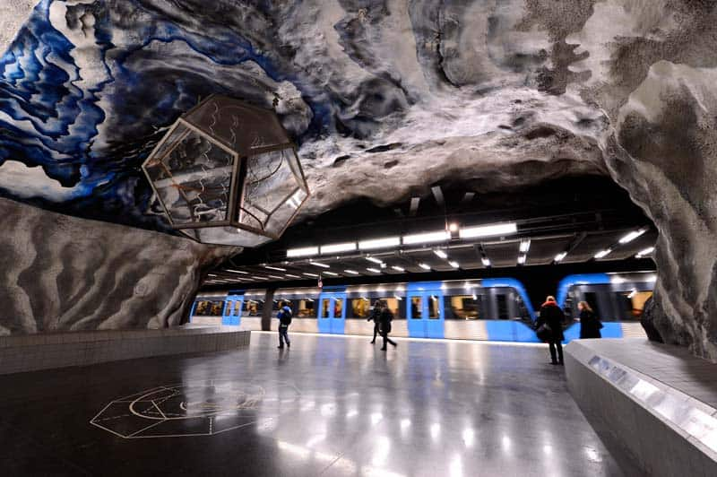 Inside Stockholm - Amazing Subway Stations 02