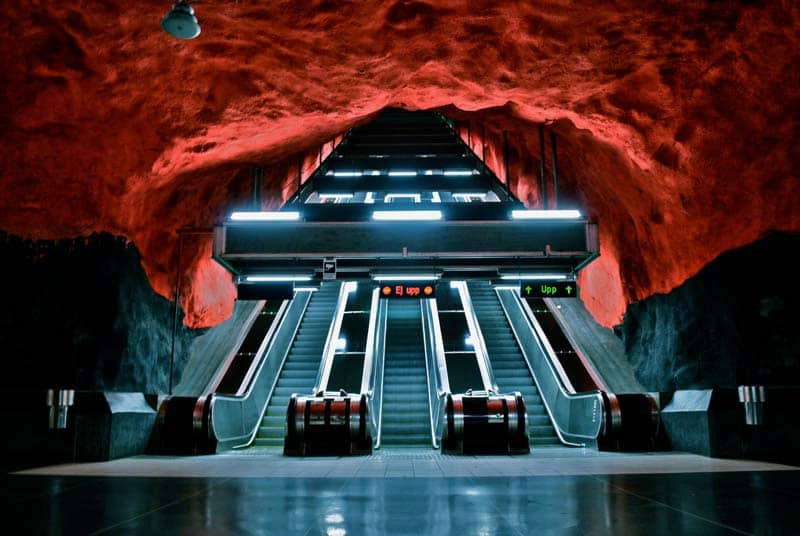 Inside Stockholm - Amazing Subway Stations 03