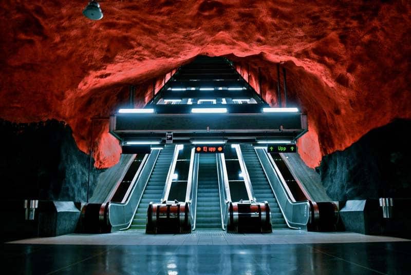 Inside Stockholm - Amazing Subway Stations 03