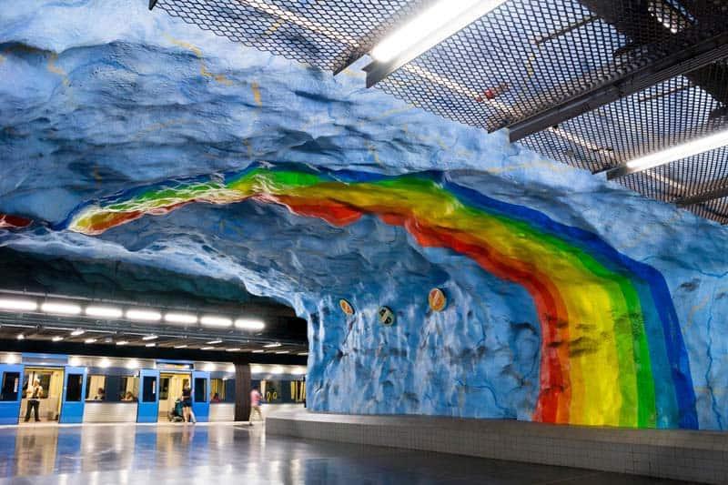 Inside Stockholm - Amazing Subway Stations 04
