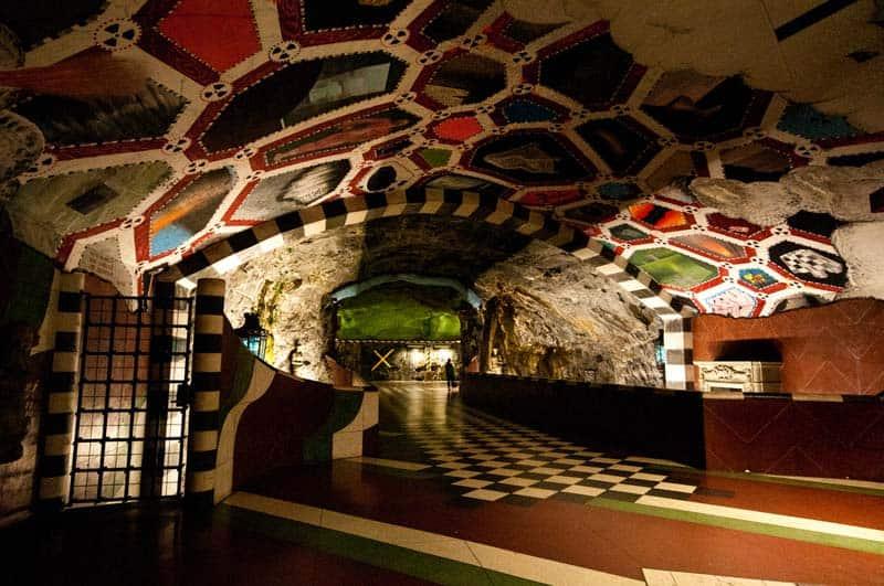 Inside Stockholm - Amazing Subway Stations 05