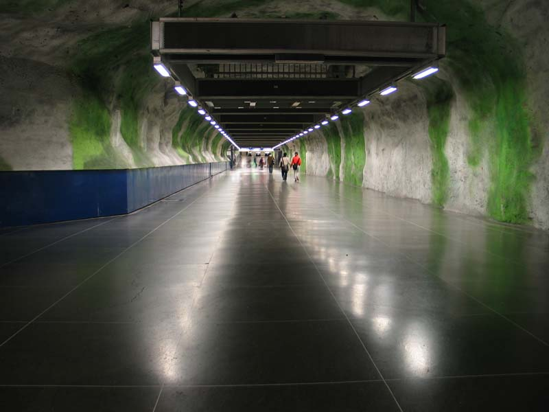 Inside Stockholm - Amazing Subway Stations 06