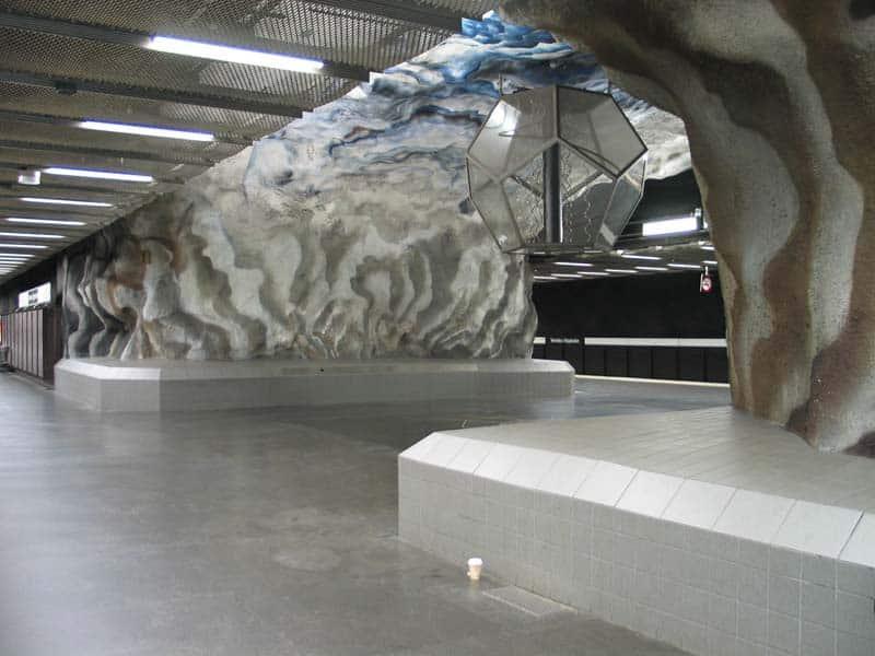 Inside Stockholm - Amazing Subway Stations 07