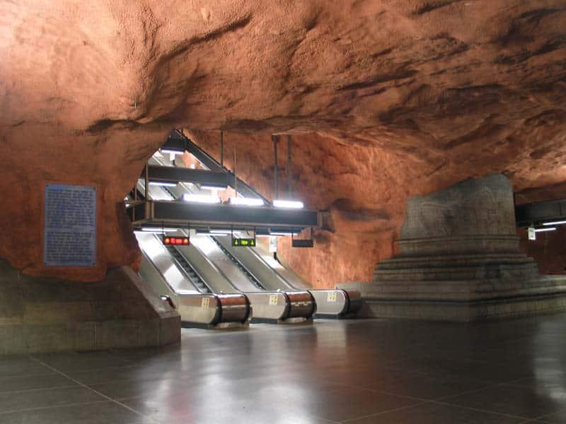 Inside Stockholm - Amazing Subway Stations 08