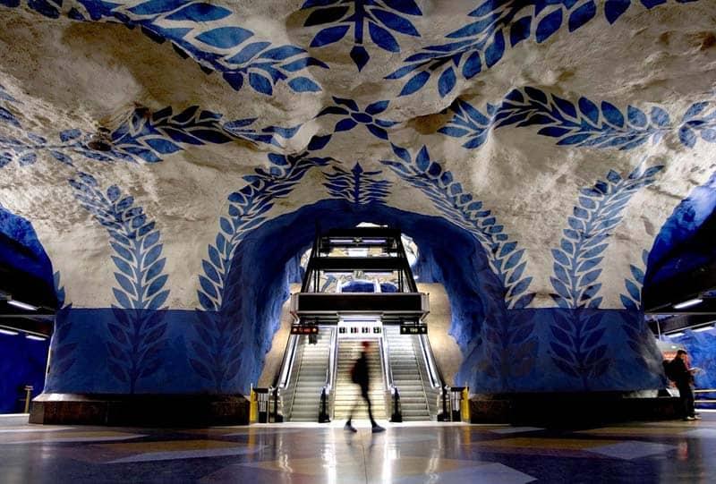 Inside Stockholm - Amazing Subway Stations 09