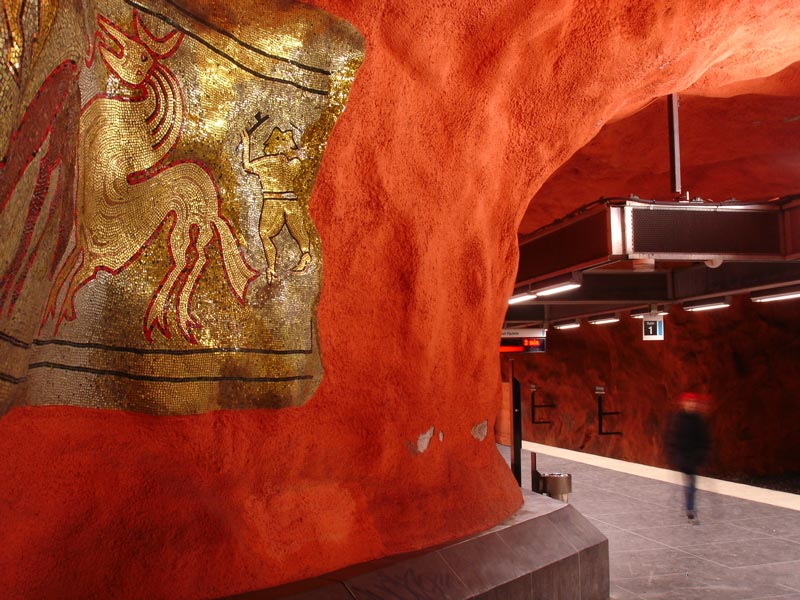 Inside Stockholm - Amazing Subway Stations 10