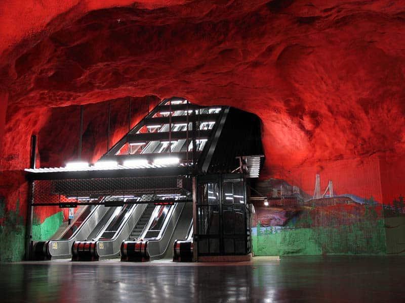 Inside Stockholm - Amazing Subway Stations 11