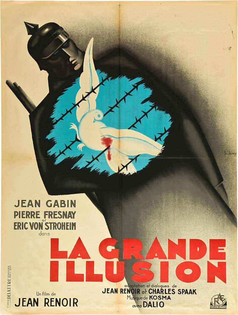 Inspiration – Vintage French Movie Posters - 01 La Grande Illusion - 1946 - RAC