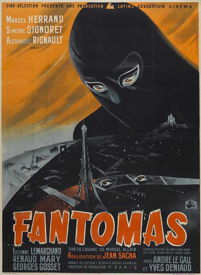 Inspiration – Vintage French Movie Posters - 03 Fantmas - 1947 - Cin Slection