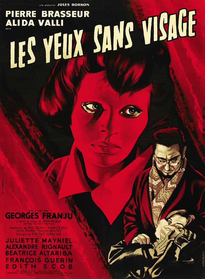 Inspiration – Vintage French Movie Posters - 06 Eyes Without a Face -1960