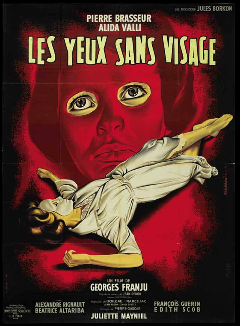 Inspiration – Vintage French Movie Posters - 07 Eyes Without a Face - 1960 - Lux Compagnie Cinmatographique de France