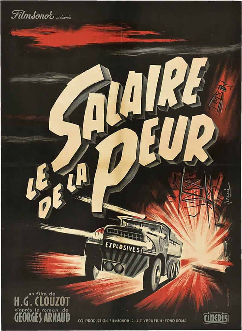 Inspiration – Vintage French Movie Posters - 12 Wages of Fear - 1953 - Rene Ferracci