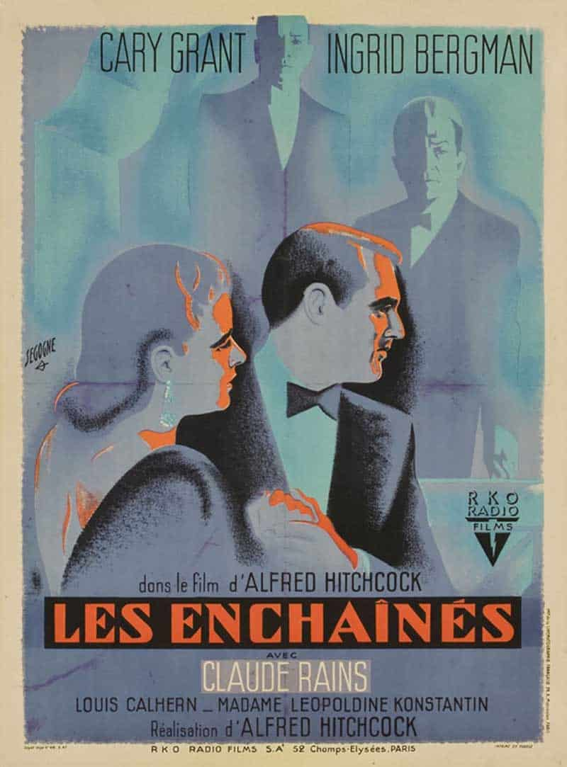 Inspiration – Vintage French Movie Posters - 15 Notorious - 1946 - Pierre Segogne