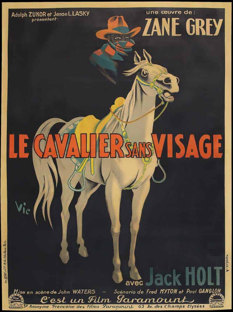 Inspiration – Vintage French Movie Posters - 19 The Mysterious - 1927 - Rider Paramount