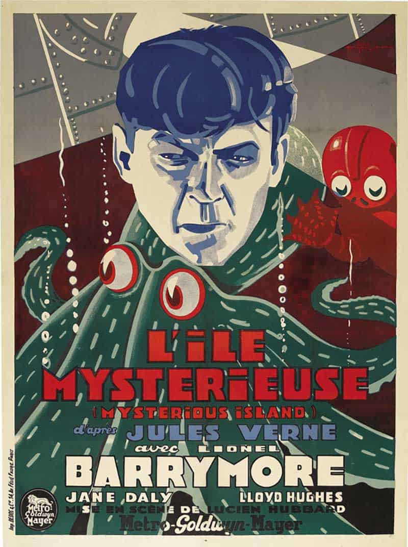 Inspiration – Vintage French Movie Posters - 20 The Mysterious - 1929 - Island MGM